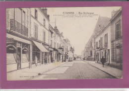 91.- ETAMPES .-  Rue Saint-Jacques - Etampes