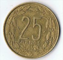 25 Francs    Afrique  Centrale 1985 - Monnaies