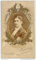 CDV Identifié Eugène Louis Napoléon Bonaparte, Prince Impérial-Déposé-Henri Guérard Editeur Paris Rue De Rivoli - Foto's