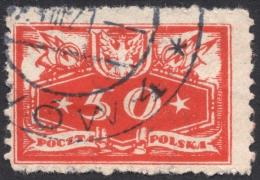 Poland, 50 F. 1920, Sc # O6, Mi # 6, Used - Officials