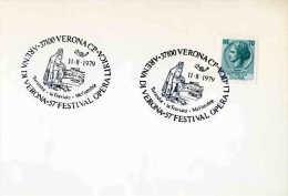 ITALIE - VERONA 1979 - OPERA LYRIQUE - Muziek