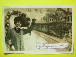 Saint Aignan Sur Roe , Bonjour ,train - Saint Aignan Sur Roe