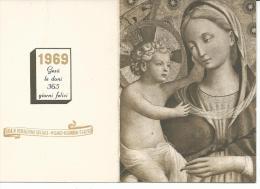CAL404 - CALENDARIETTO 1969 - CASA DI REDENZIONE SOCIALE - MILANO-NIGUARDA - Calendari