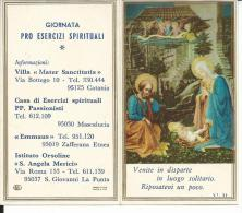 CAL407 - CALENDARIETTO 1974 - GIORNATA PRO ESERCIZI SPIRITUALI - Calendari