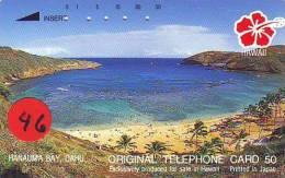 Télécarte Japonaise HAWAII Related (46) - Hawaï
