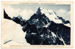 CP, 05, LE DAUPHINE PITTORESQUE, Massif Du Pelvoux, La Barre Des Ecrins (4103m)...Vierge - Non Classés