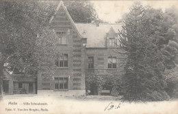 Cpa/pk 1905 Melle Villa Schoubosch De Graeve - Melle
