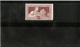 FRANCE N° 212 VARIETE RECTO VERSO   NEUF **  ANNEE 1924/25 - Nuovi