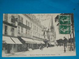 86) Chatellerault - N° 5 - Boulevard Blessac Et Eglise St-jean-baptiste   - ANNEE 1912   EDIT - LL - Chatellerault
