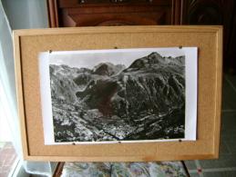 Superbe Photo Aérienne De La Vallée De HEAS (gèdre) Très Grandes Dimensions 45cmsx27cms - Other