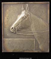 M00450 Louvain 1938 Et Un Cheval En Buste Au Revers, 86 G - Other