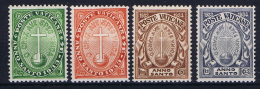 Vatican: 1933 Mi 17 - 20, MH/* - Nuovi