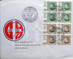 Greenland Letter To Denmark 3-7-1973  ( Lot 2050 ) - Brieven En Documenten