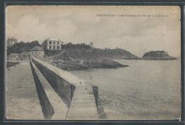 - CPA 22 - Portrieux, Les Falaises Et L'Ile De La Comtesse - Frankreich