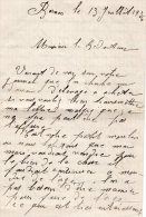 VP96 - BERNON 1936 - 2 Lettres Concernant Le Moulin De Mme BESSONNAT à BERNON Aube - Manuscripts
