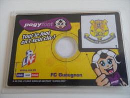 POGY FOOT FCG GUEUGNON - Habillement, Souvenirs & Autres