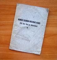 1929 Lithuania Lietuva/ Kunigu Sajunga Misijoms Remti - Oude Boeken