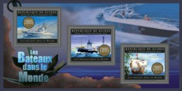 Guinea. 2012 Ships. (608a) - Boten