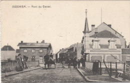 Cpa/pk 1910 Izegem Iseghem Pont Du Canal Brug - Izegem