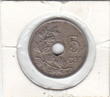 5  CENTIMES Cupro-nickel Albert I 1922 FR - 1909-1934: Albert I