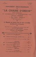 Franc Maçonnerie Maçon Maçonnique Catalogue 8 Pages - Libros, Revistas, Cómics
