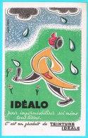 BUVARD BUVARDS Algerie Algeria France Publicité Pub Dyeing Teinture Ideale Idealo Tissue Impermeable - Pinturas