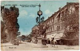 Algérie, Sidi Bel Abbès, Boulevard De La République, Les Quatre Horloges - Sidi-bel-Abbès