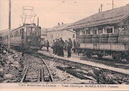 Chemin De Fer Nyon-St Cergue-Morez, Train Aux Rousses Photo 1922 Retirage BVA, NStCM 71.6 - VD Vaud