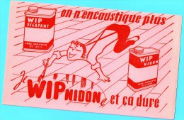 BUVARD BUVARDS Algerie Algeria France Publicité Pub Wipnidon Decapant  Encoustique - Papel Secante