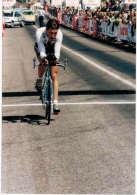Photo - Cyclisme - Luc Leblanc Dauphiné Libéré 1995 - Contre La Montre à Tain L´Hermitage - Cycling