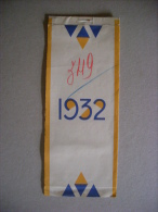 "Calendario/almanacco Pubblicitario ""1932 - Carte Da Parati GATTINO"" - Calendari"