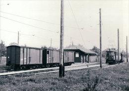 Chemin De Fer Nyon-St Cergue-Morez, Train à Givrins  Photo 1963 BVA, NStCM 152.4 - VD Vaud