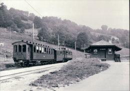 Chemin De Fer Nyon-St Cergue-Morez, Train à Le Muids Gare  Photo 1963 BVA, NStCM 152.5 - VD Vaud