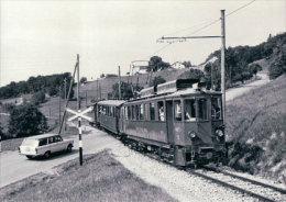 Chemin De Fer Nyon-St Cergue-Morez, Train Près Du Muids  Photo 1967 BVA, NStCM 152.6 - VD Vaud