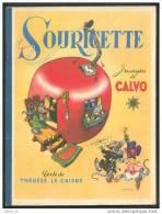 SOURICETTE De CALVO Et Thérèse Le Caisne :  RARE ÉO Cartonnée G.P ©.1947 - Old Books