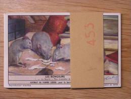 LES RONGEURS 453 Liebig Série Complète De 6 Chromos Trading Cards Chromo - Liebig