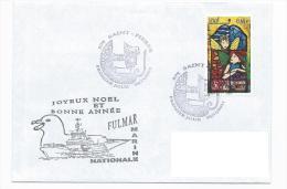 13090 - MARINE NATIONALE - PATROUILLEUR FULMAR - ST PIERRE ET MIQUELON (1er Jour 2011) - FDC