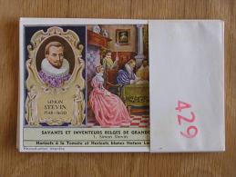 SAVANTS ET INVENTEURS BELGES DE GRANDE RENOMMEE 429 Liebig Série Complète De 6 Chromos Trading Cards Chromo - Liebig