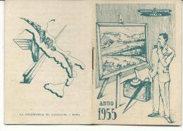 CAL437 - CALENDARIETTO 1955 - FERROVIE DELLO STATO - Calendriers