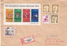 D-BRD München 1972. Olympiade. Olympische Spiele, Eröffnungsfeier (5.008) - [7] Federal Republic