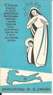 CAL146 - CALENDARIETTO 1955 - MONASTERO DI S. CHIARA - Calendriers