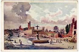 4 Cpa Signée Vignal, Sermaize, Louppy Le Chateau, Eglise De Sermaize, Maurupt - Illustrateurs & Photographes