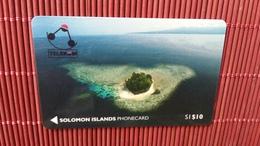 First Card Solomon Islands Nr 1 (Mint,New) Rare - Solomon Islands