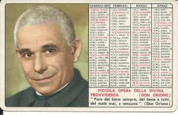CAL152 - CALENDARIETTO 1969 - PICCOLA OPERA DELLA DIVINA PROVVIDENZA (DON ORIONE) - Calendari