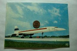 Dans Le Ciel De Paris - Avion Super Sonique - Concorde - 1946-....: Moderne