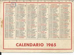 CAL225 - CALENDARIETTO 1963 - ANONIMO - Calendari