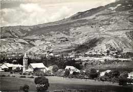 Alpes De Haute Provence -gd Format -ref K902- Savines -vue Sur La Chapelle Et L Usine De Sotex   - Carte Bon Etat  - - Andere Gemeenten