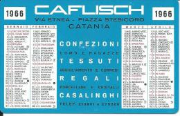 CAL227 - CALENDARIETTO 1966 - CAFLISCH - CATANIA - Calendari