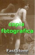 Riproduzione FOTO GALANTE DI GIOVANE DONNA (Glamour Erotico Ottocentesco) - PERFETTA - Riproduzioni