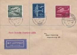 Deutsche Dienstpost Adria; Air Mail Cover 1944 - Occupazione 1938 – 45